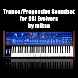 trance/progressive soundset for dsi evolvers by miksa