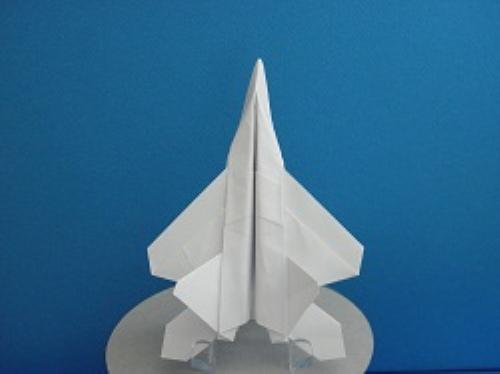 First Additional product image for - Origami F-22 Raptor Tutorial Video