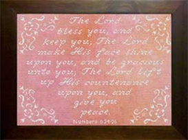 Icings - The Lord Bless You | Crafting | Cross-Stitch | Religious