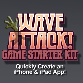 Wave Attack Game Starter Kit - Personal License | Software | Software Templates