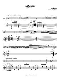 La Gitana -  Fritz Kreisler   Music   Classical