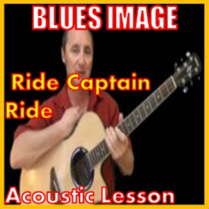 learn to play ride captain ride by blues image