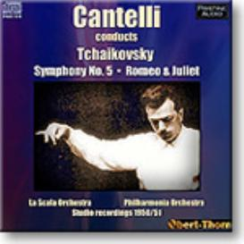 TCHAIKOVSKY Symphony 5, Romeo and Juliet, Cantelli 1950/1, Ambient Stereo MP3 | Music | Classical