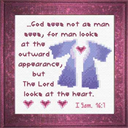 Lord Sees Heart | Crafting | Cross-Stitch | Religious