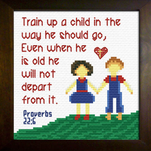 First Additional product image for - Train a Child - Proverbs 22:6