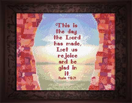 This Is The Day | Crafting | Cross-Stitch | Religious