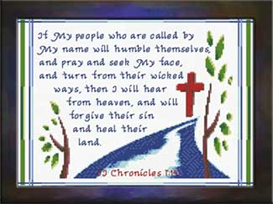 If My People | Crafting | Cross-Stitch | Religious