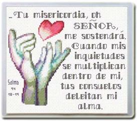 Me Sostendra - Diseo / dibujo | Crafting | Cross-Stitch | Religious