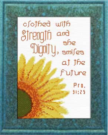 strength dignity - proverbs 31:25 chart