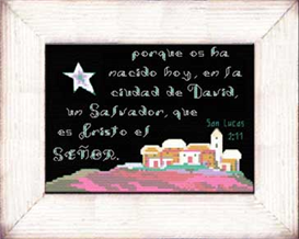 Ciudad de David - San Lucas 2:11 - Diseno | Crafting | Cross-Stitch | Other
