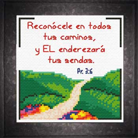 Caminos | Crafting | Cross-Stitch | Religious