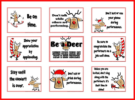 Be a Deer Audience Behavior Bulletin Board Kit | Other Files | Patterns and Templates