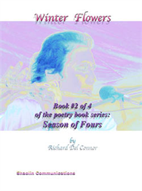winter flowers poetry book by richard del connor