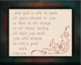 Grace Abounds | Crafting | Cross-Stitch | Other