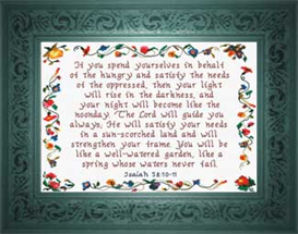 Guide You Always | Crafting | Cross-Stitch | Religious