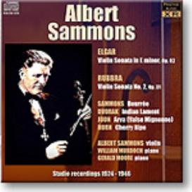 SAMMONS Elgar and Rubbra Violin Sonatas, Ambient Stereo MP3 | Music | Classical