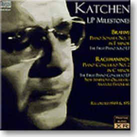 Julius Katchen, LP Milestones, mono MP3   Music   Classical