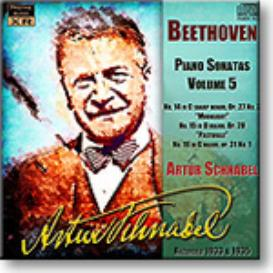 ARTUR SCHNABEL Beethoven Piano Sonatas Volume 5, Ambient Stereo MP3 | Music | Classical