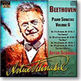 ARTUR SCHNABEL Beethoven Piano Sonatas Volume 6, mono FLAC | Music | Classical