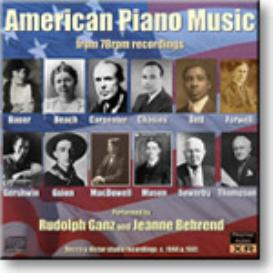 American Piano Music from 78rpm recordings, 24-bit Ambient Stereo FLAC | Music | Classical