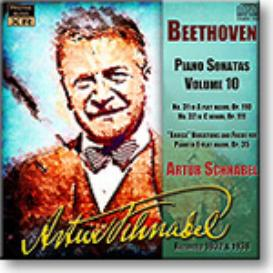 ARTUR SCHNABEL Beethoven Piano Sonatas Volume 10, Ambient Stereo MP3 | Music | Classical