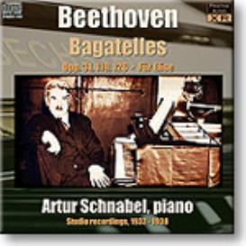 ARTUR SCHNABEL Beethoven Bagatelles, mono 16-bit FLAC | Music | Classical