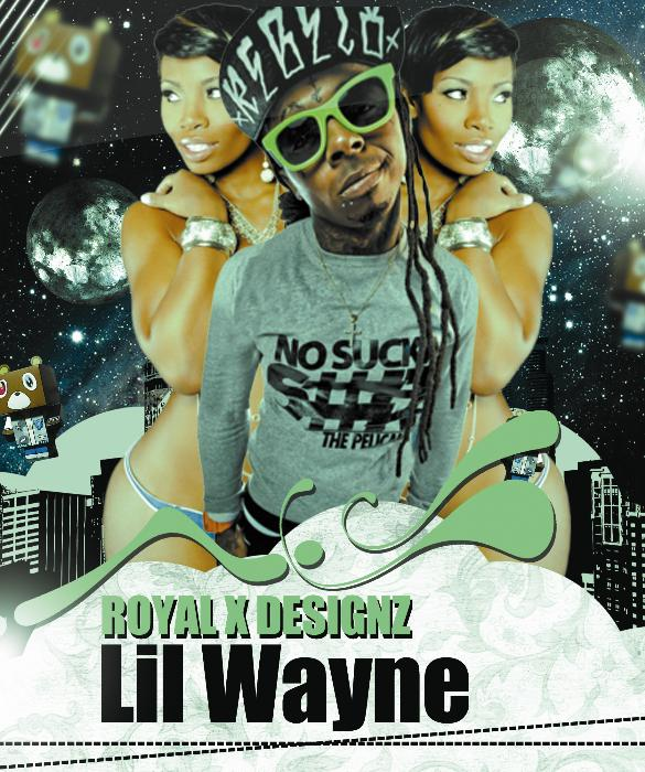 First Additional product image for - Royal X Designs Lil Wayne Cover 2