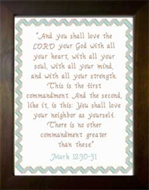 love the lord - mark 12:30-31