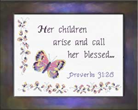 Call Her Blessed | Crafting | Cross-Stitch | Other