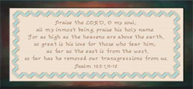 Praise The Lord | Crafting | Cross-Stitch | Other