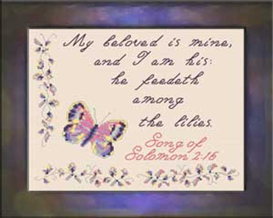 My Beloved - Chart | Crafting | Cross-Stitch | Religious