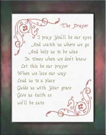 The Prayer - Song - Chart | Crafting | Cross-Stitch | Religious