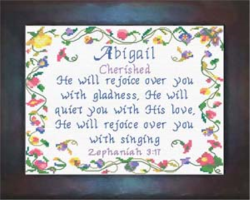 First Additional product image for - Name Blessings - Abigail