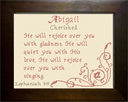 Name Blessing - Abigail 2 | Crafting | Cross-Stitch | Other