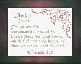 name blessings - amber