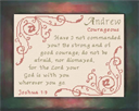 Name Blessings - Andrew 2 | Crafting | Cross-Stitch | Religious