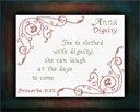 Name Blessings - Anna | Crafting | Cross-Stitch | Religious