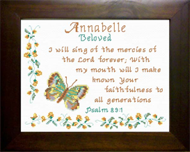Name Blessings - Annabelle | Crafting | Cross-Stitch | Religious