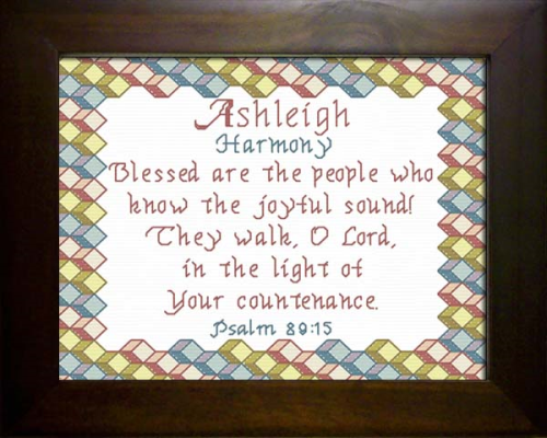First Additional product image for - Name Blessing - Ashleigh 2