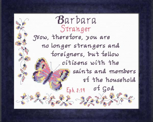 First Additional product image for - Name Blessings - Barbara