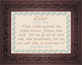 Name Blessings - Caleb | Crafting | Cross-Stitch | Other