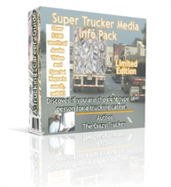Super Trucker Media Info Kit | Audio Books | Self-help