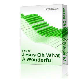 Jesus Oh What A Wonderful Child | Music | Gospel and Spiritual