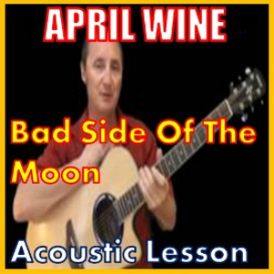 Learn to play Bad Side Of The Moon by April Wine | Movies and Videos | Educational