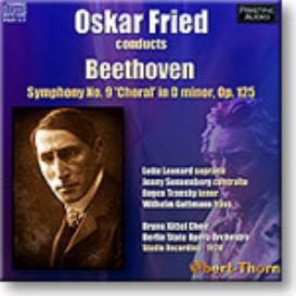 BEETHOVEN Symphony 9, Fried 1928, Mono FLAC | Music | Classical