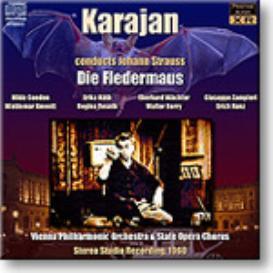 STRAUSS Die Fledermaus, Karajan 1960, 16-bit Stereo FLAC | Music | Classical