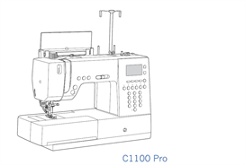 pfaff c1100 pro sewing machine owner manual