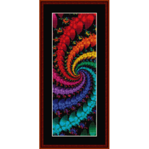 Fractal 332 Bookmark cross stitch pattern by Cross Stitch Collectibles | Crafting | Cross-Stitch | Other