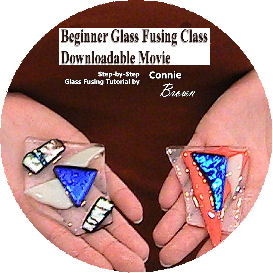 beginner glass fusing class downloadable movie