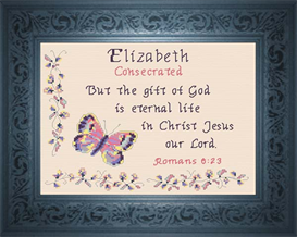 Name Blessing - Elizabeth 3 | Crafting | Cross-Stitch | Other